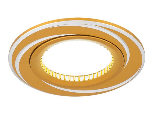 Светильник Gauss Aluminium Gu5.3 Gold-Chrome AL015