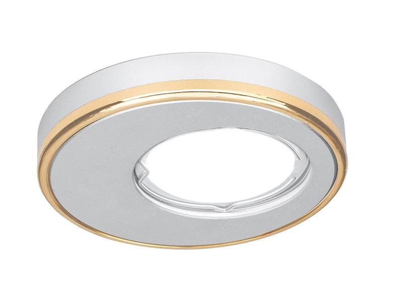 Светильник Gauss Aluminium Gu5.3 Matt Aluminium-Gold AL003