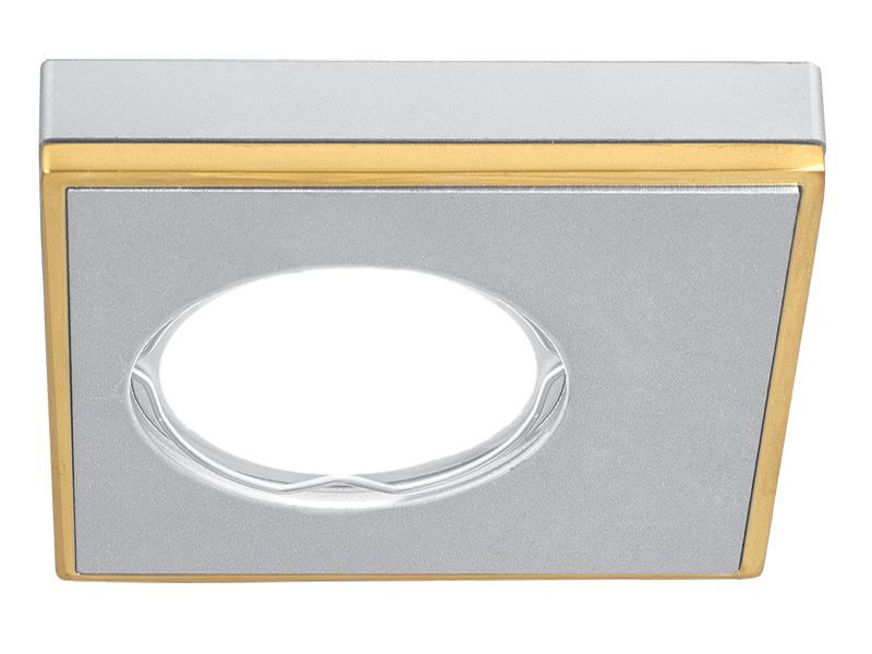 Светильник Gauss Aluminium Gu5.3 Matt Aluminium-Gold AL001