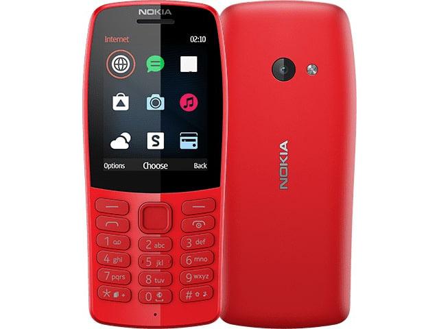 Сотовый телефон Nokia 210 (TA-1139) Red