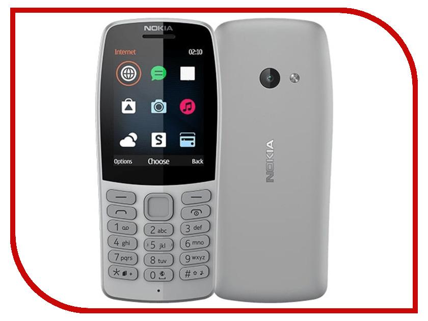 Сотовый телефон Nokia 210 Grey 3 7 1000mah сотовый телефон замена литий ионный аккумулятор для nokia bl 4u t5