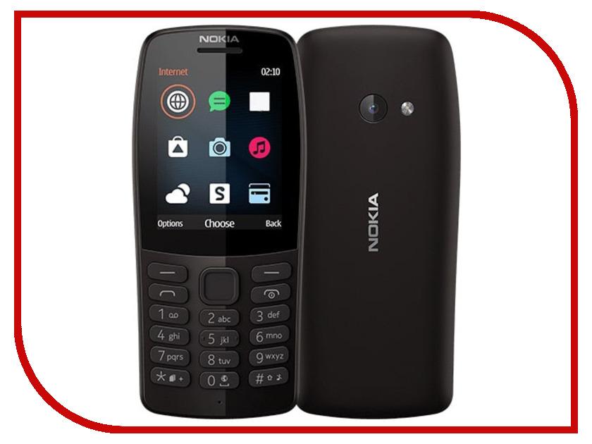 Сотовый телефон Nokia 210 Black сотовый телефон sonim xp7 black