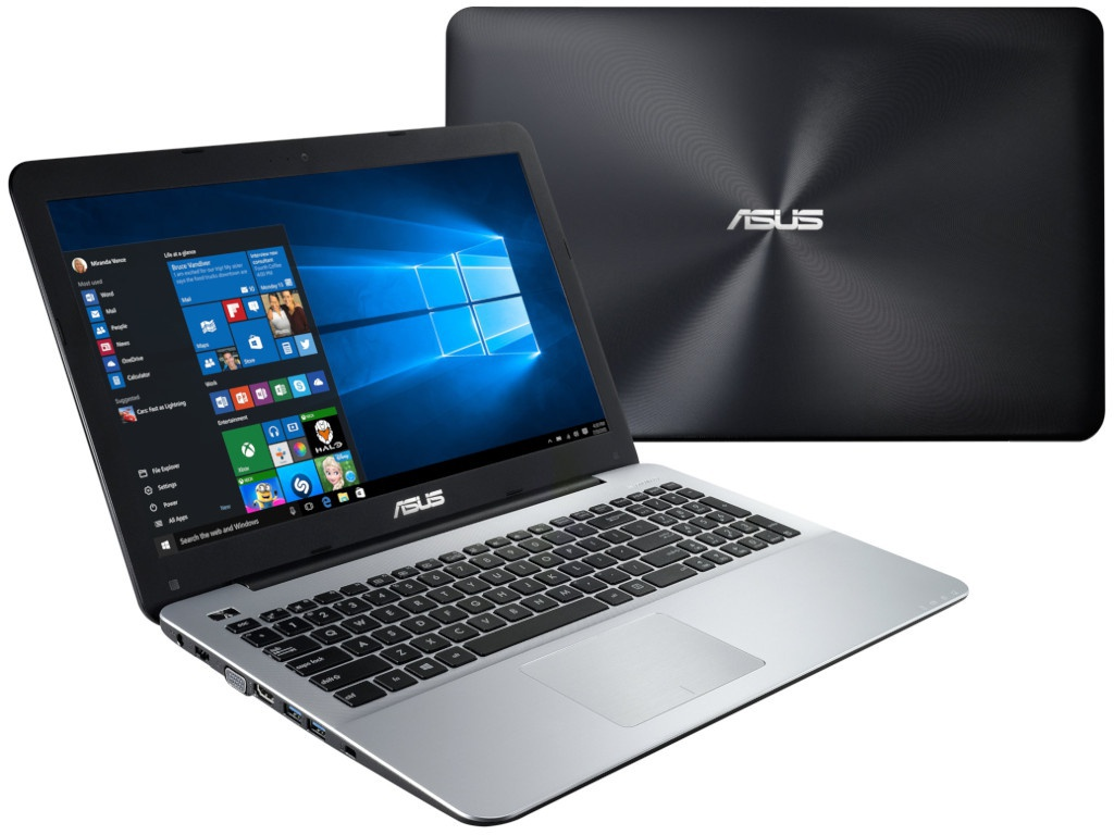 Ноутбук ASUS VivoBook X555QA-DM337T Matt Black 90NB0D52-M04350 (AMD A12-9720P 2.7 GHz/12288Mb/256Gb SSD/AMD Radeon R7/Wi-Fi/Bluetooth/Cam/15.6/1920x1080/Windows 10 64-bit)