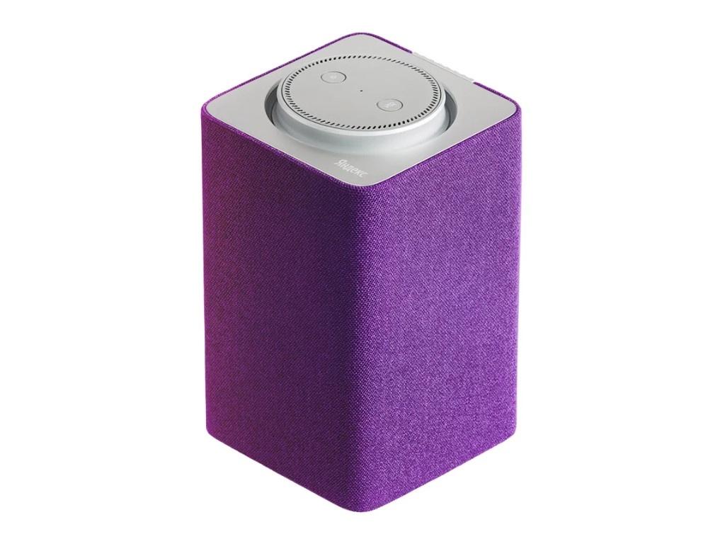 Колонка Яндекс Станция - Домашний помощник Purple