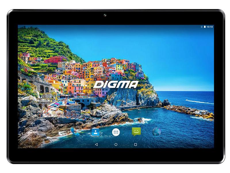 Планшет Digma CITI 1578 4G Black (MediaTek MTK8735 1.3 GHz/1024Gb/16Gb/4G/3G/GPS/Wi-Fi/Bluetooth/Cam/10.1/1280x800/Android)