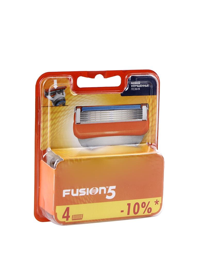 Сменные кассеты Gillette Fusion 4 шт 81647495