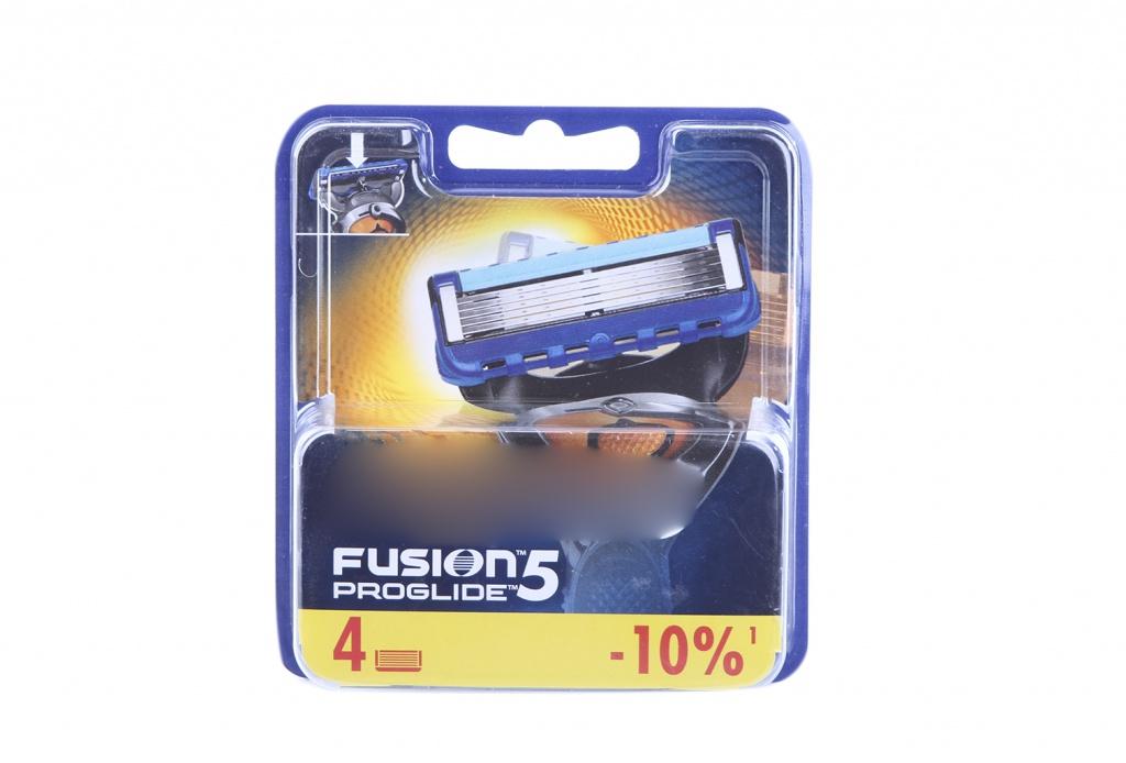 Аксессуар Сменные кассеты Gillette Fusion ProGlide 4 шт 81469905