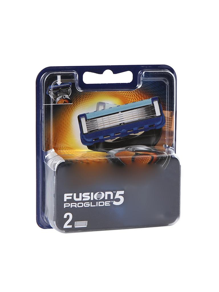 Аксессуар Сменные кассеты Gillette Fusion Proglide 2 шт 81521961 недорого