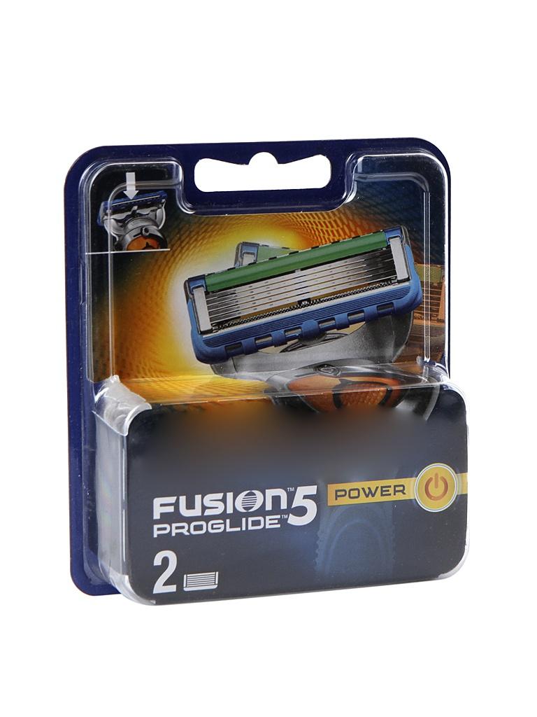 Сменные кассеты Gillette Fusion Proglide Power 2 шт 81521959 бритва proglide power 1 кас gillette