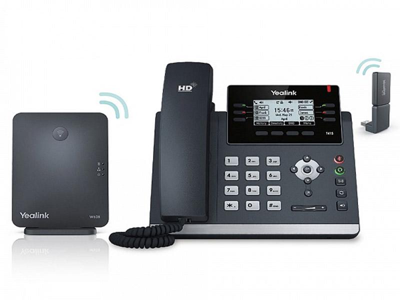 VoIP оборудование Yealink W41P оборудование