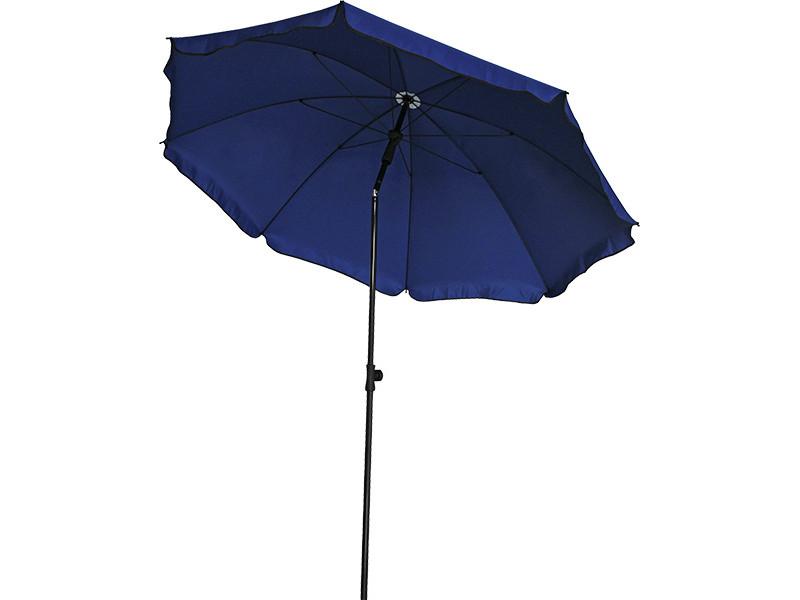Пляжный зонт Green Glade 1191 купол 240 см, высота 230 см цена 2017