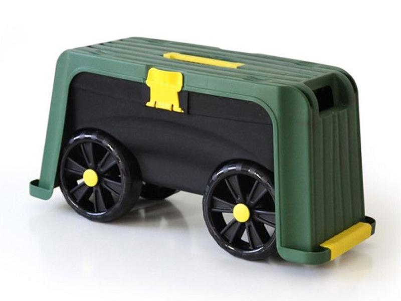 Ящик-подставка на колесах Helex H835 Green-Black