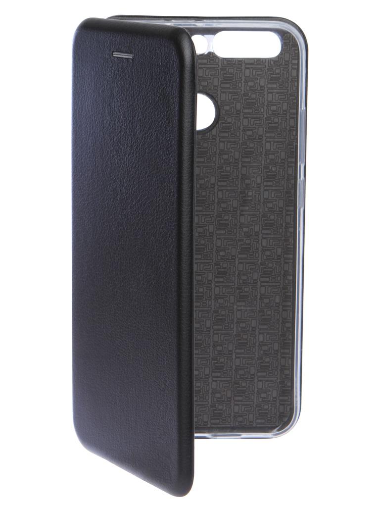 Аксессуар Чехол Innovation для Huawei Honor 8 Pro Book Silicone Magnetic Black 14671
