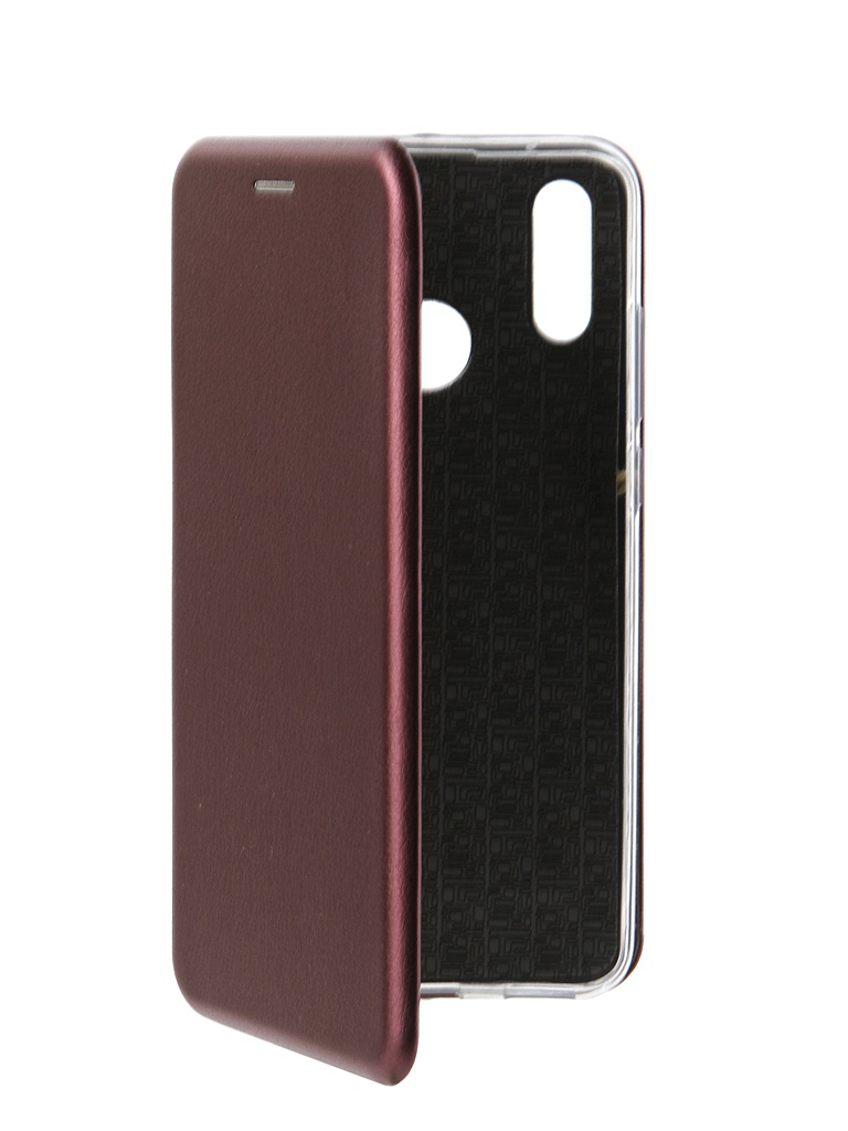 Чехол Innovation для Honor 10 Lite / Huawei P Smart 2019 Book Silicone Magnetic Bordo 15199