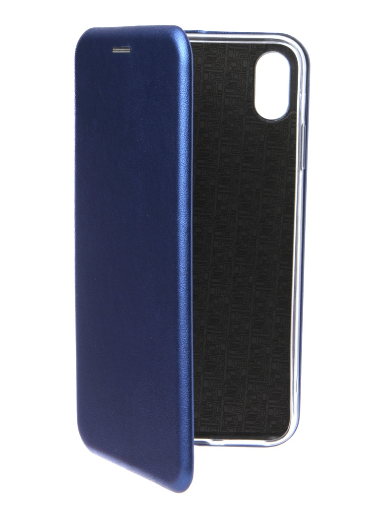 Чехол Innovation для APPLE iPhone XS Max Book Silicone Magnetic Blue 14703