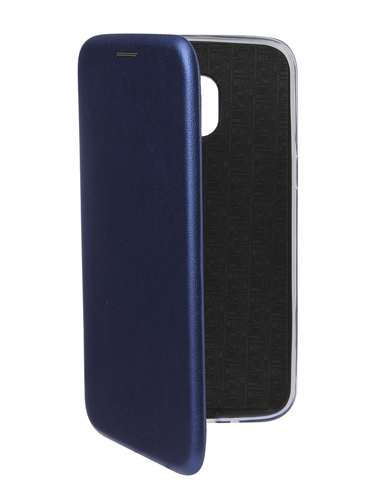 Аксессуар Чехол Innovation для Samsung Galaxy J2 2018 Book Silicone Magnetic Blue 14441 аксессуар чехол innovation для samsung galaxy j2 2018 silicone purple 13492