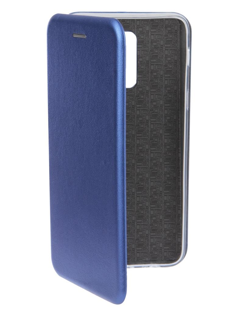 Чехол Innovation для Samsung Galaxy J8 2018 Book Silicone Magnetic Blue 14682