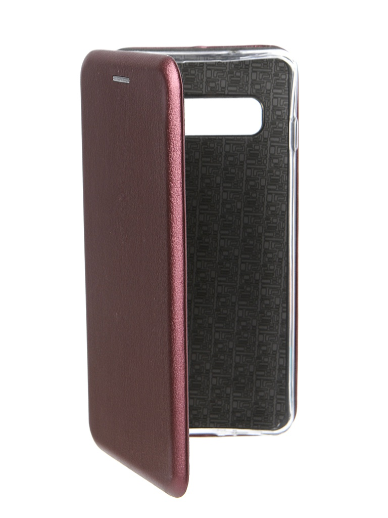 Аксессуар Чехол Innovation для Samsung Galaxy S10 Book Silicone Magnetic Bordo 14665 аксессуар чехол innovation для samsung galaxy a8 2018 book silicone magnetic bordo 14699