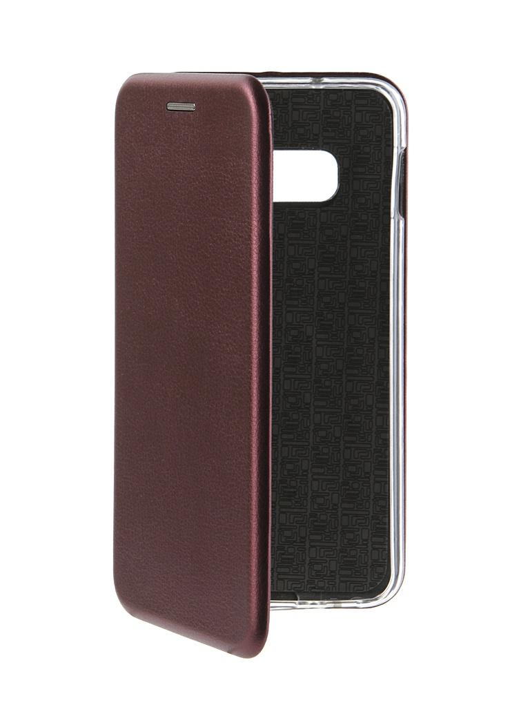 Аксессуар Чехол Innovation для Samsung Galaxy S10 Lite Book Silicone Magnetic Bordo 14661