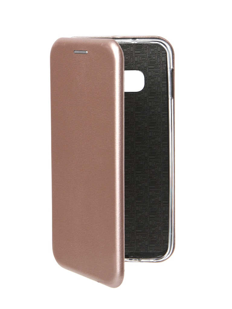 Фото - Аксессуар Чехол Innovation для Samsung Galaxy S10 Lite Book Silicone Magnetic Rose Gold 14659 аксессуар