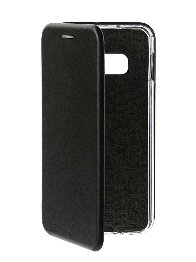 Чехол Innovation для Samsung Galaxy S10 Lite Book Silicone Magnetic Black 14658