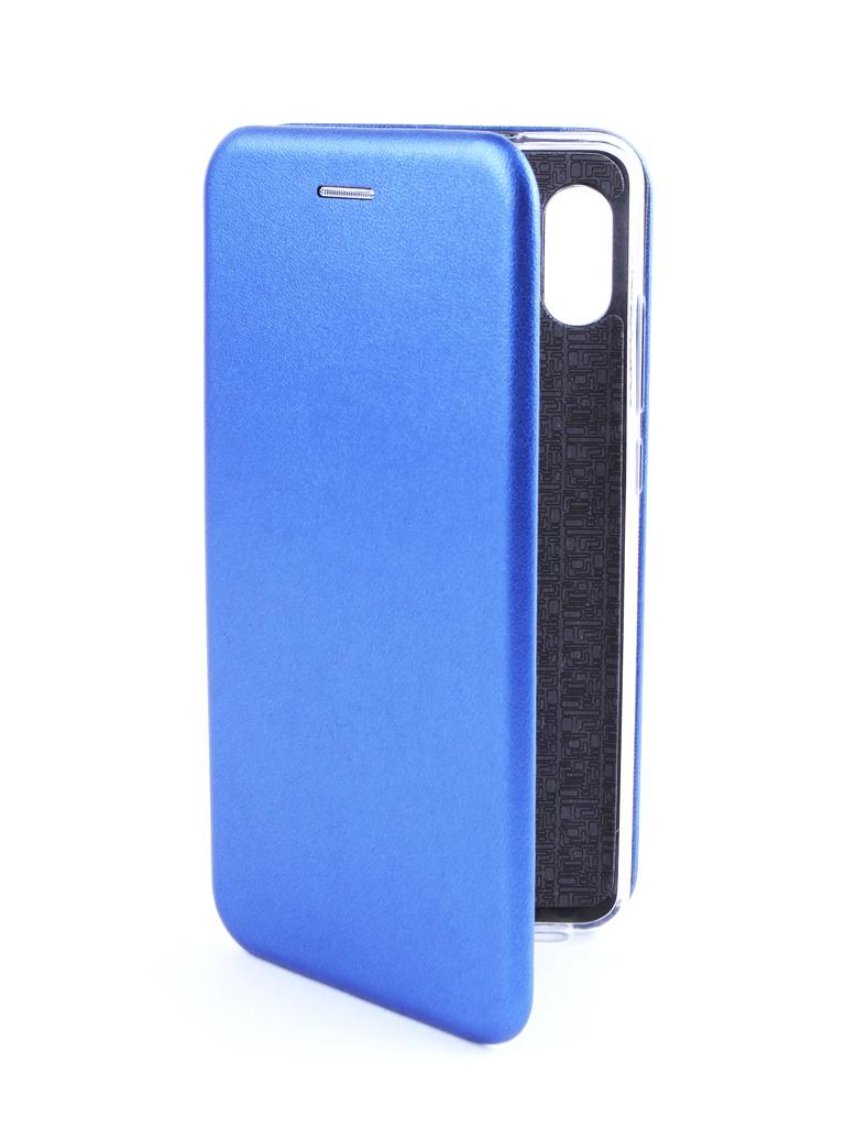 Аксессуар Чехол Innovation для Xiaomi Redmi Note 5 Pro 2018 Book Silicone Magnetic Blue 14646 аксессуар чехол книга xiaomi redmi note 3 note 3 pro innovation book silicone rose gold 11438