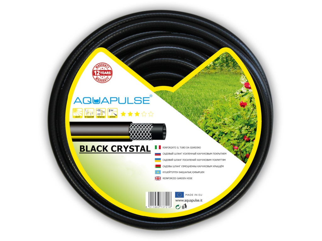 Шланг Aquapulse Black Crystal 1/2 30m BLC 1/2х30