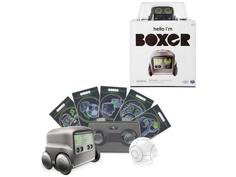 Игрушка Spin Master Boxer Black 75100-B4 boxer 75100 bs интерактивный робот синий