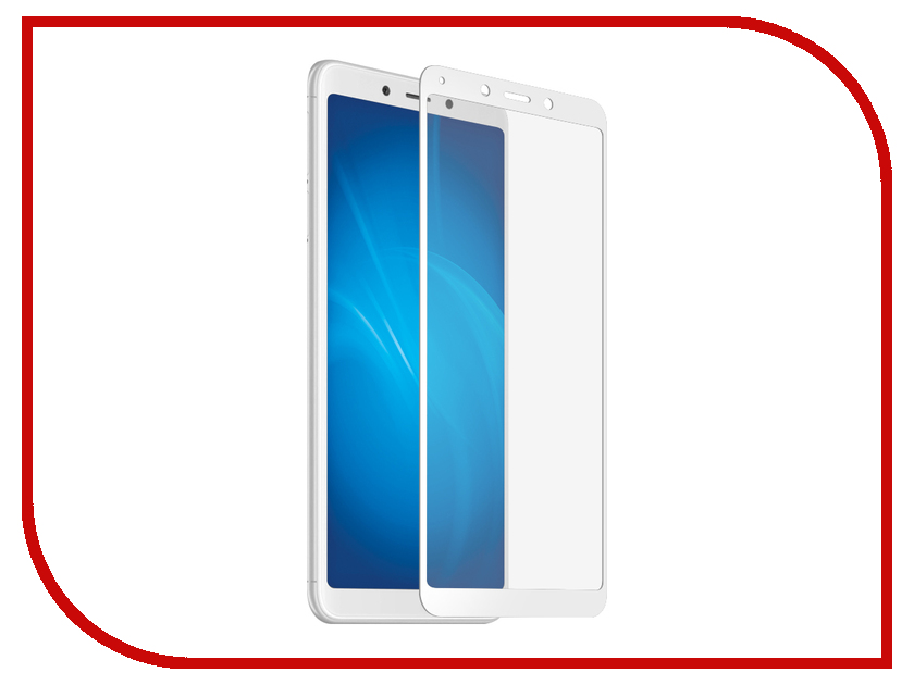 Аксессуар Закаленное стекло для Xiaomi Redmi 6A / Redmi 6 DF Full Screen xiColor-39 White new touch screen for 7 supra m72kg prestigio multipad wize 3047 3037 3g 3038 touch panel digitizer glass sensor free ship