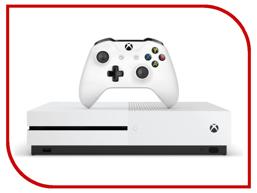 Игровая приставка Microsoft Xbox One S 1Tb White + Tom Clancys The Division 2 234-00882 цена