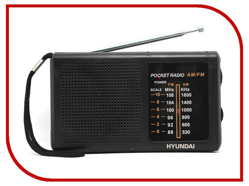 Радиоприемник Hyundai H-PSR130 Black цена