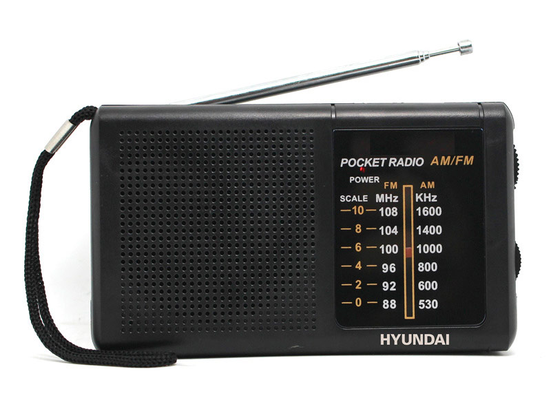Радиоприемник Hyundai H-PSR130 Black цена и фото