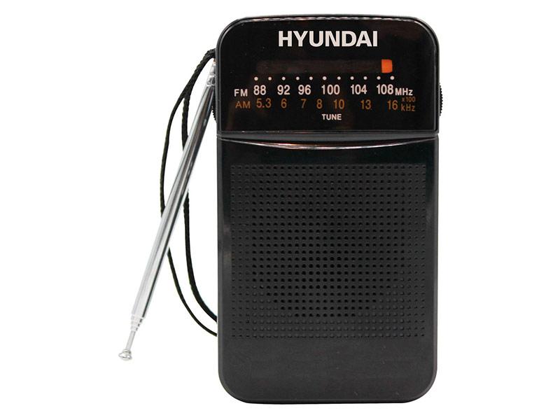 Радиоприемник Hyundai H-PSR110 Black цена и фото