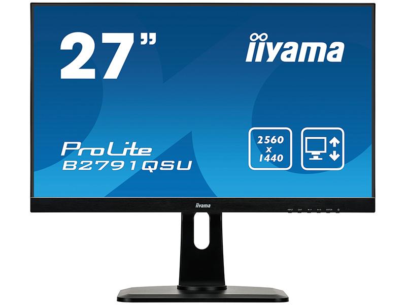 Монитор Iiyama ProLite B2791QSU-B1 Black монитор iiyama prolite b2791qsu b1