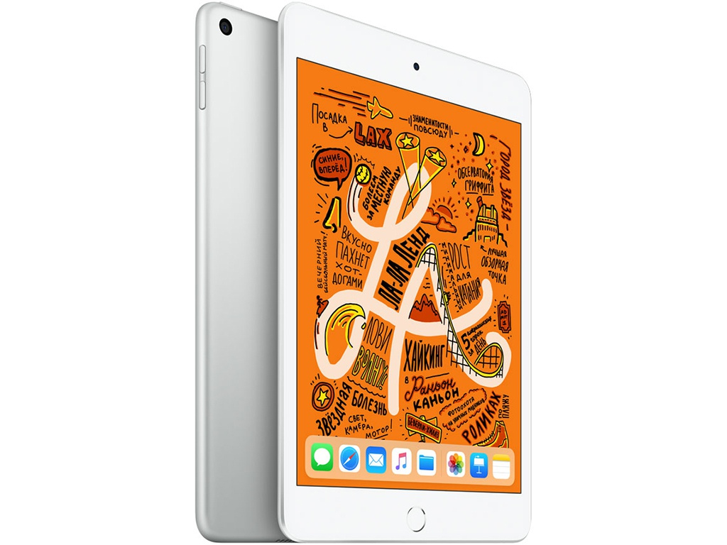 Планшет APPLE iPad mini (2019) 64Gb Wi-Fi Silver MUQX2RU/A