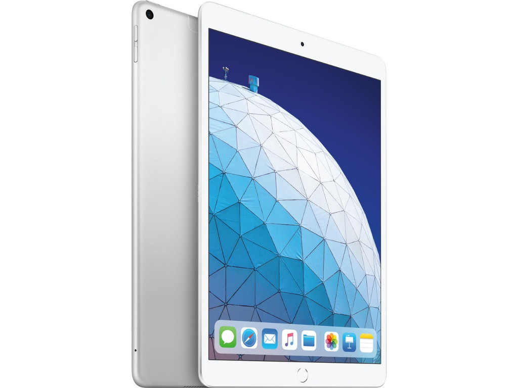 Планшет APPLE iPad Air 10.5 (2019) 256Gb Wi-Fi + Cellular Silver MV0P2RU/A apple ipad air 2 wi fi cellular 64gb silver white