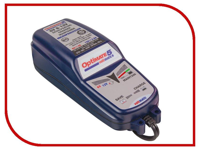 Устройство OptiMate 5 Voltmatic TM222 зарядное устройство optimate 1 tm400