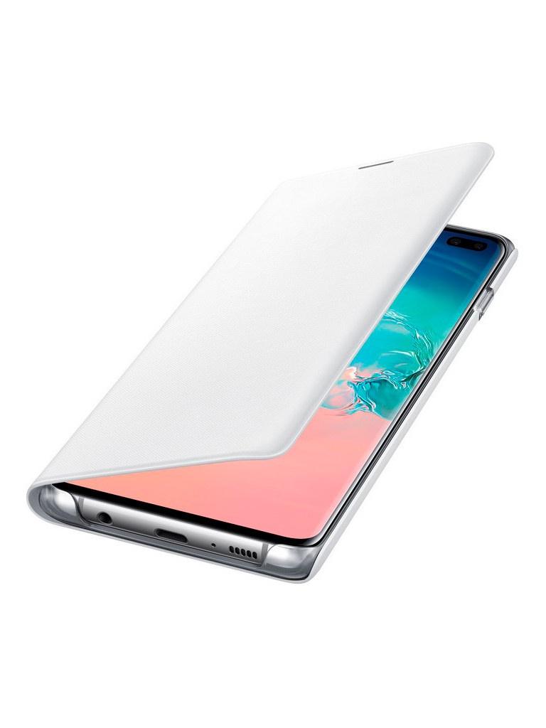 Аксессуар Чехол для Samsung Galaxy S10 Plus LED View Cover White EF-NG975PWEGRU стоимость