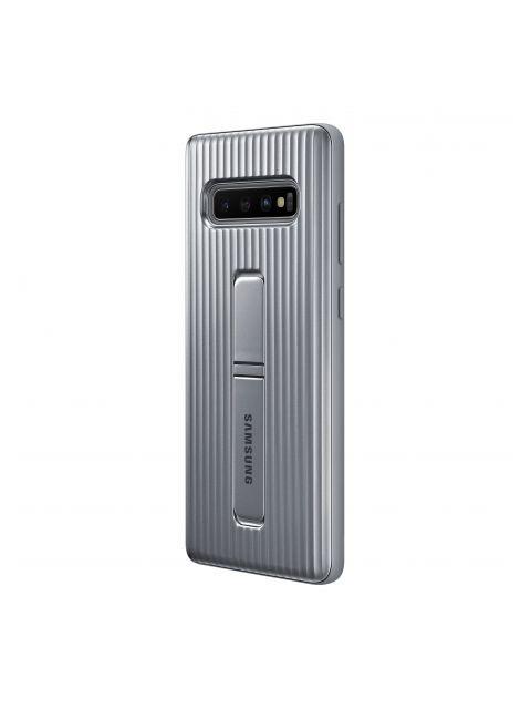 Чехол для Samsung Galaxy S10 Plus Protective Standing Cover Silver EF-RG975CSEGRU