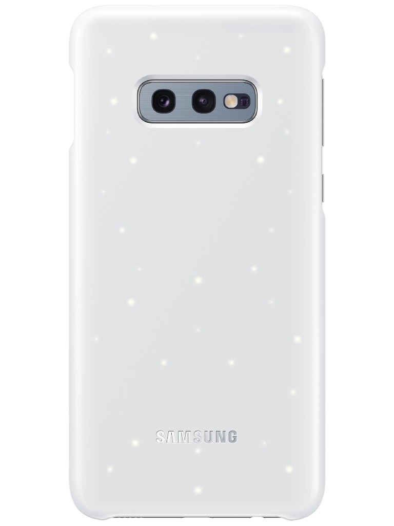 Аксессуар Чехол для Samsung Galaxy S10E LED Cover White EF-KG970CWEGRU