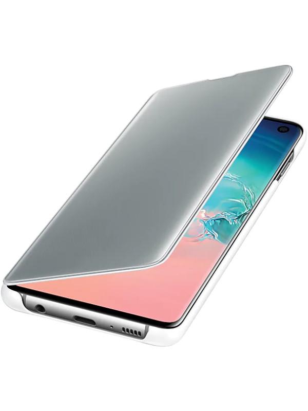 Аксессуар Чехол для Samsung Galaxy S10 Clear View Cover White EF-ZG973CWEGRU