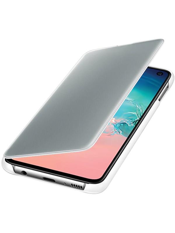 Аксессуар Чехол для Samsung Galaxy S10E Clear View Cover White EF-ZG970CWEGRU