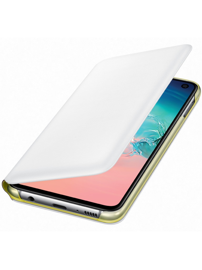 Аксессуар Чехол для Samsung Galaxy S10E LED View Cover White EF-NG970PWEGRU