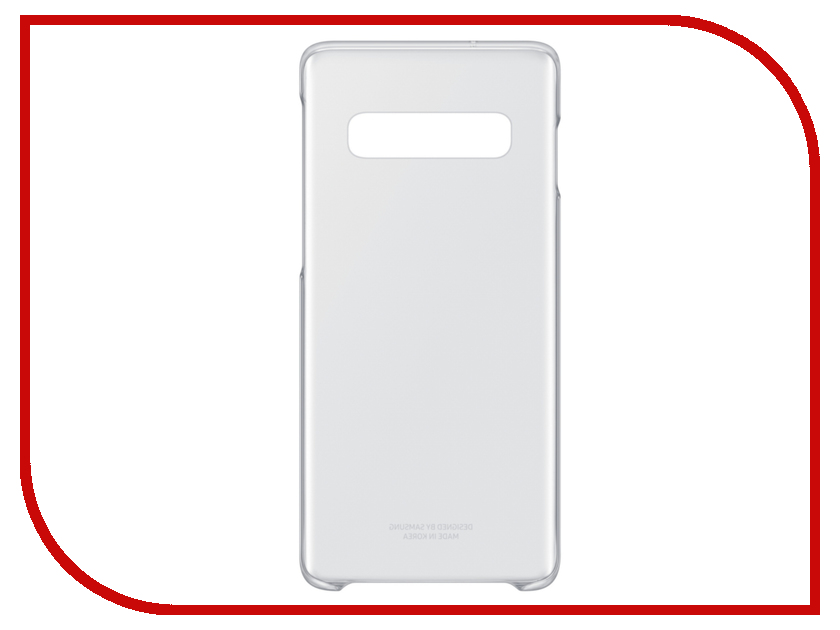 Аксессуар Чехол для Samsung Galaxy S10 Clear Cover Transparent EF-QG973CTEGRU аксессуар чехол накладка samsung galaxy j2 2018 jelly cover pink ef aj250tpegru