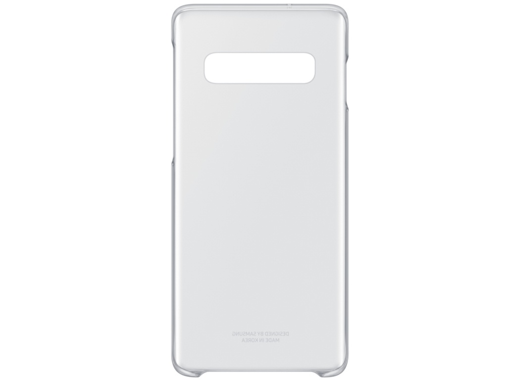 Аксессуар Чехол для Samsung Galaxy S10 Clear Cover Transparent EF-QG973CTEGRU цена и фото
