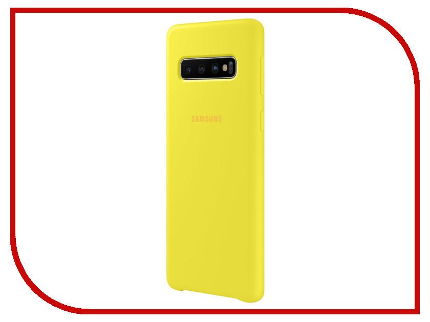 Аксессуар Чехол для Samsung Galaxy S10 Silicone Cover Yellow EF-PG973TYEGRU eichholtz аксессуар