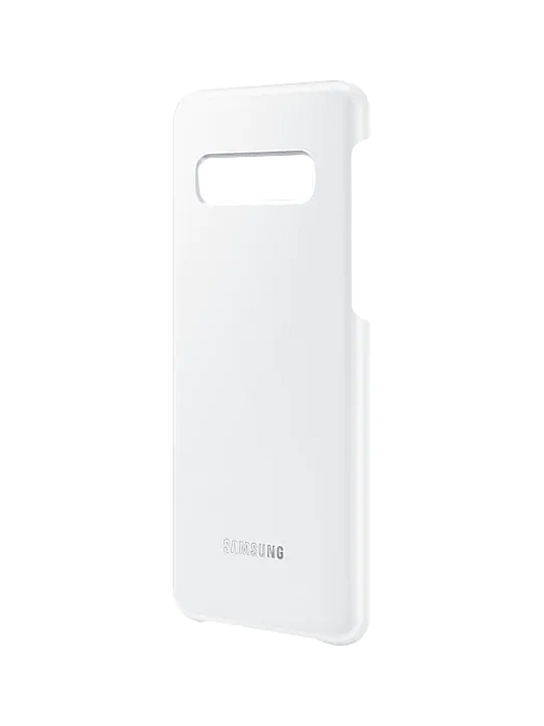 Аксессуар Чехол для Samsung Galaxy S10 LED Cover White EF-KG973CWEGRU