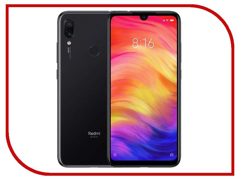Сотовый телефон Xiaomi Redmi Note 7 3Gb RAM 32Gb Black сотовый телефон xiaomi redmi note 5 4 64gb red