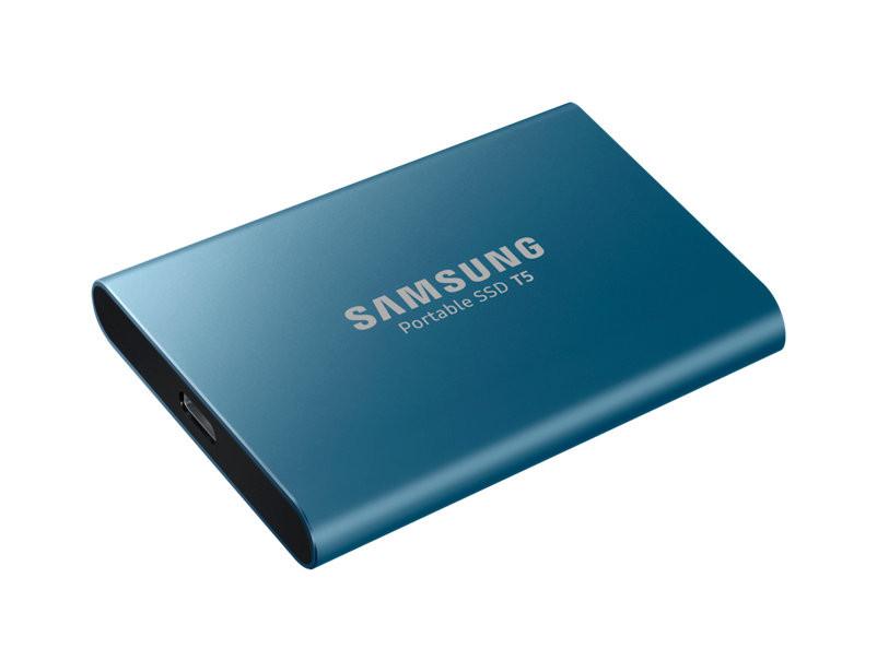 Твердотельный накопитель Samsung Portable SSD T5 500Gb MU-PA500BWW Выгодный набор + серт. 200Р!!!