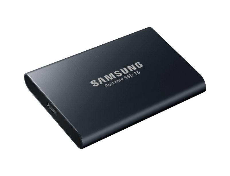 Твердотельный накопитель Samsung Portable SSD T5 1Tb MU-PA1T0BWW Выгодный набор + серт. 200Р!!!